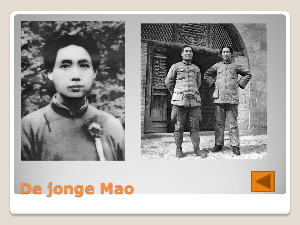De jonge Mao