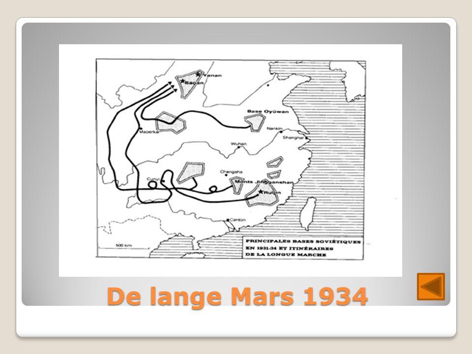 De lange Mars 1934
