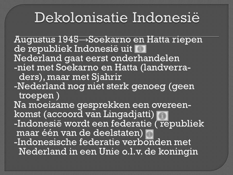 Dekolonisatie Indonesië