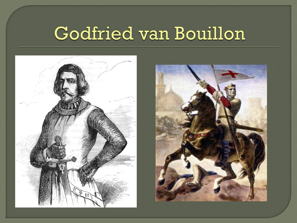 Godfried van Bouillon