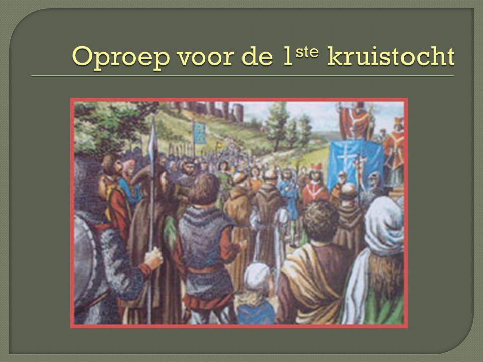 Oproep voor de 1ste kruistocht