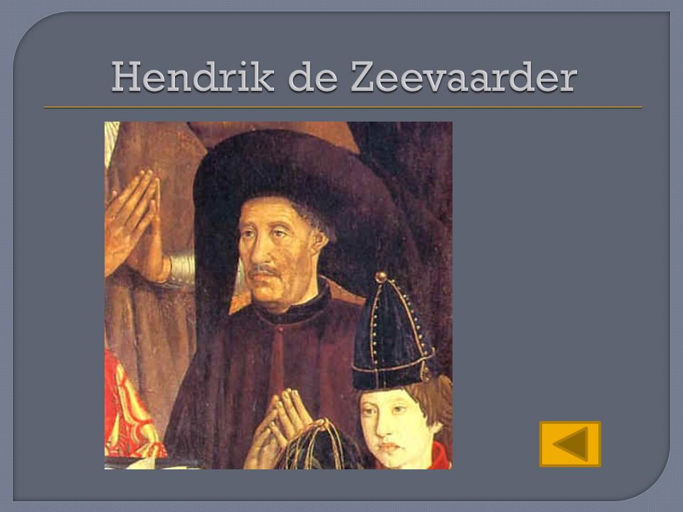 Hendrik de Zeevaarder