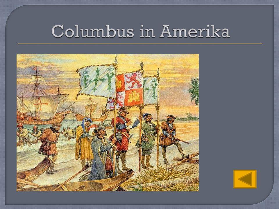 Columbus in Amerika