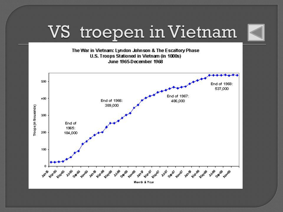 VS troepen in Vietnam