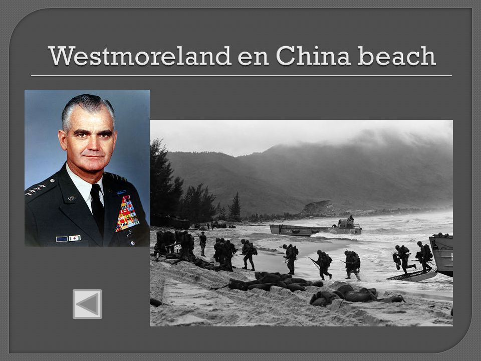 Westmoreland en China beach