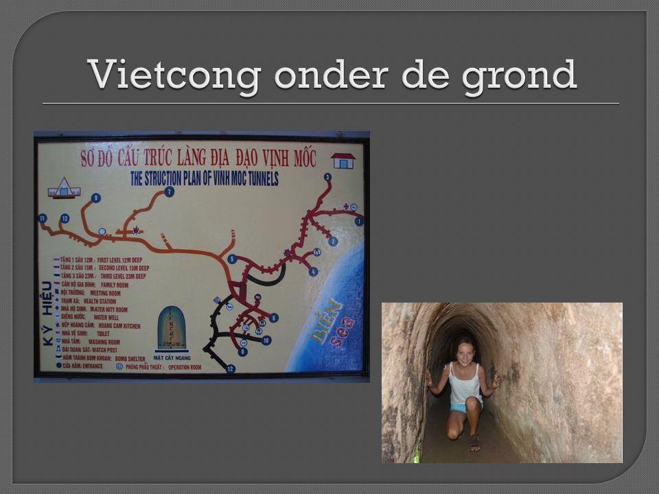 Vietcong onder de grond