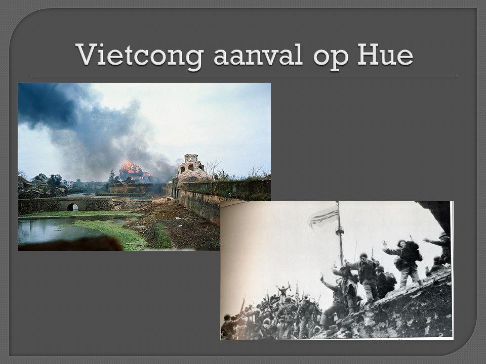 Vietcong aanval op Hue