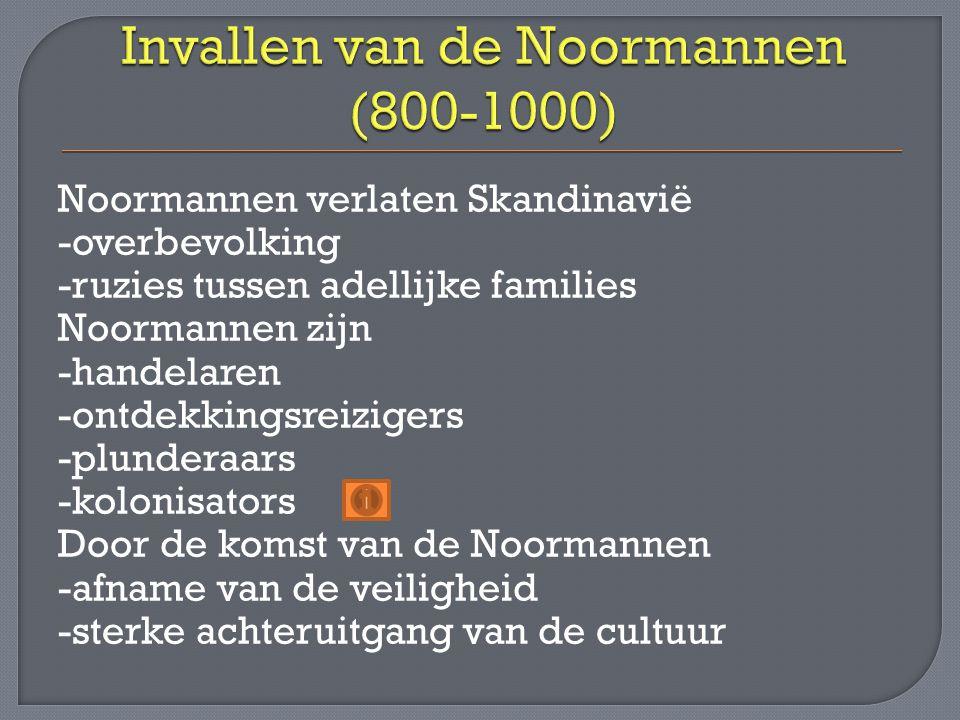 Invallen van de Noormannen (800-1000)