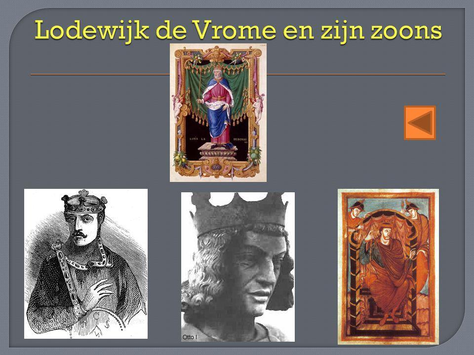 Lodewijk de Vrome en zijn zoons