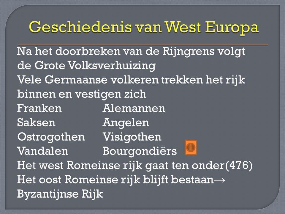 Geschiedenis van West Europa