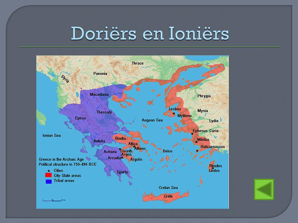 Doriërs en Ioniërs
