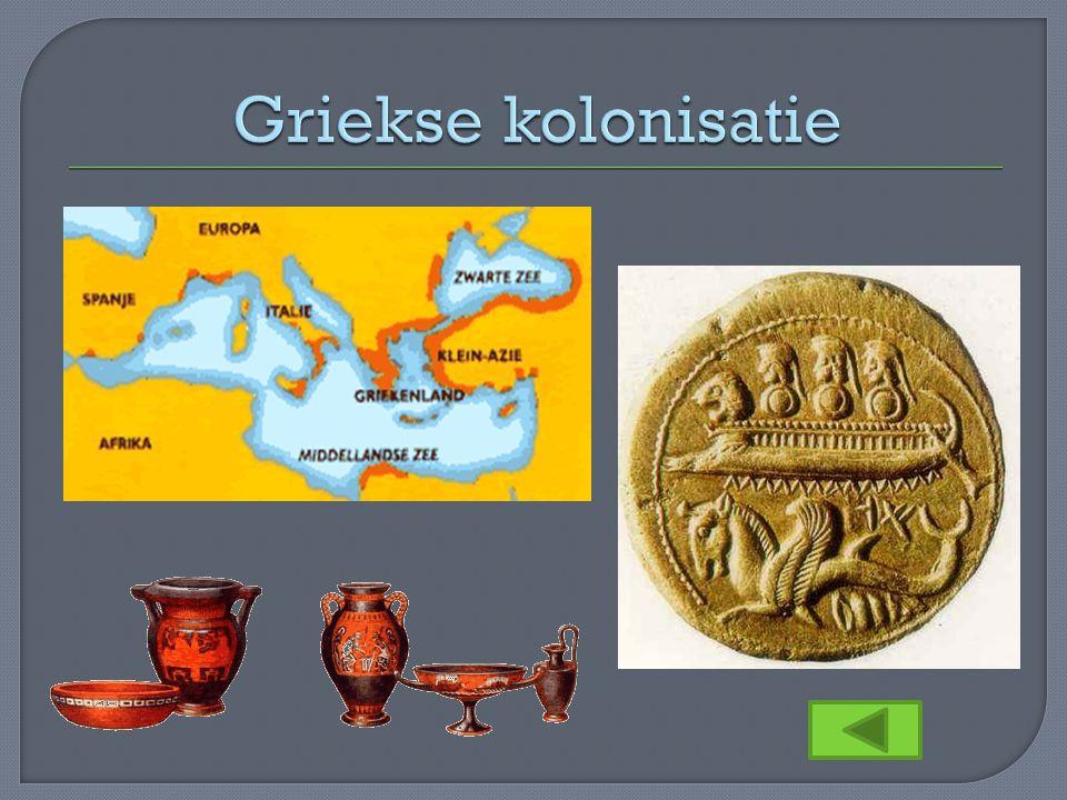 Griekse kolonisatie