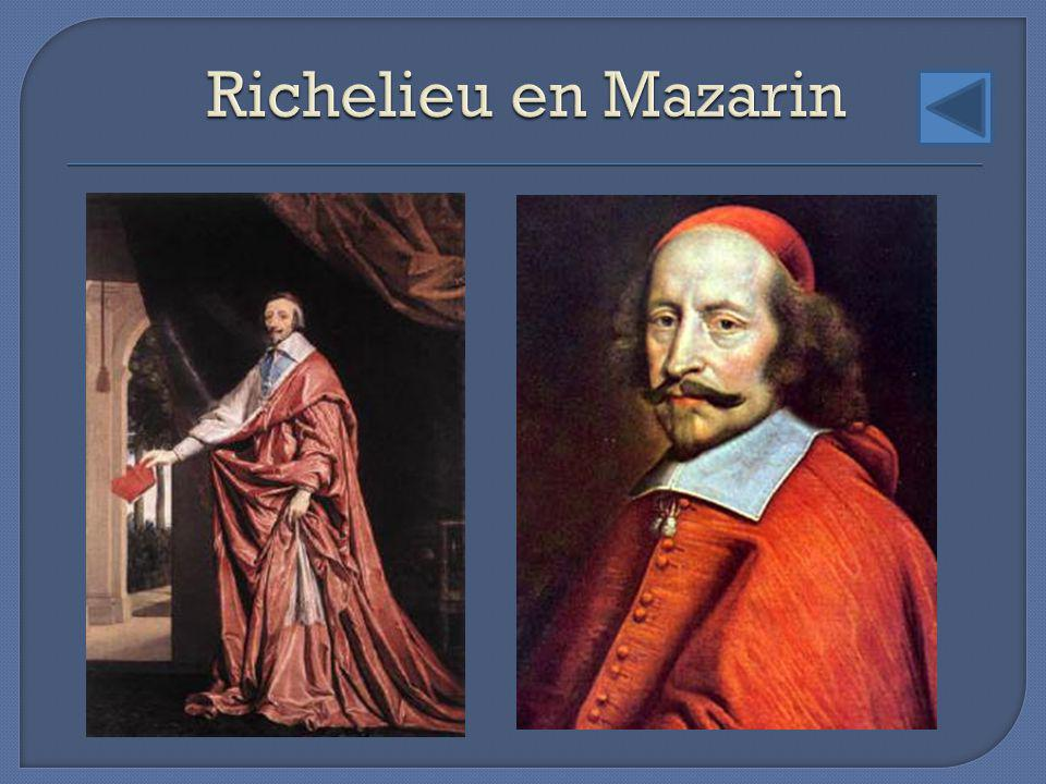 Richelieu en Mazarin