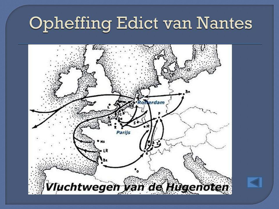 Opheffing Edict van Nantes