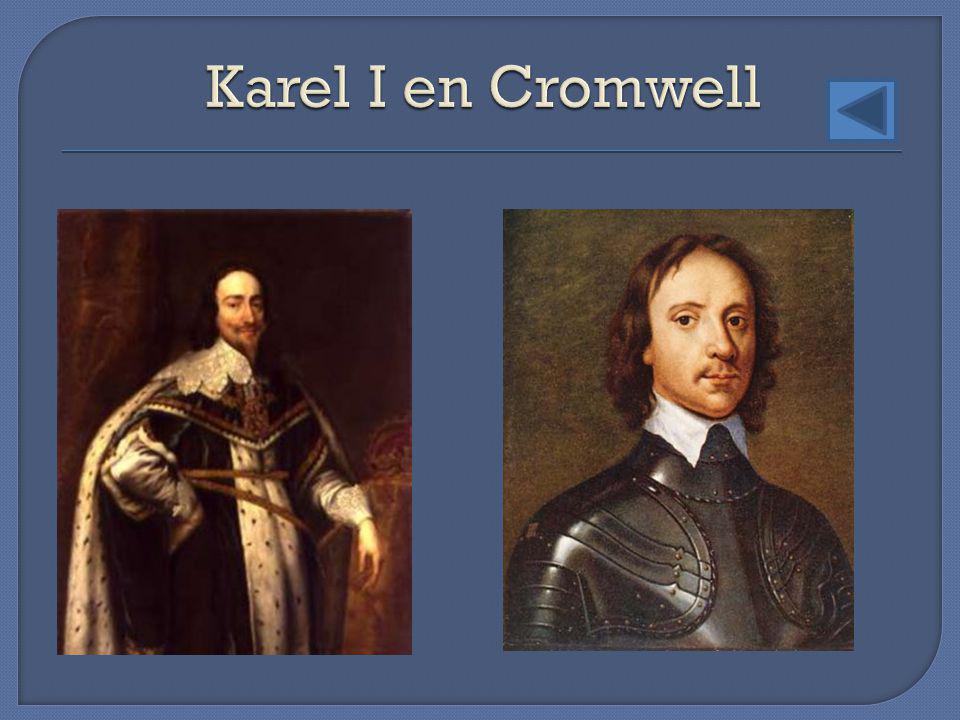 Karel I en Cromwell