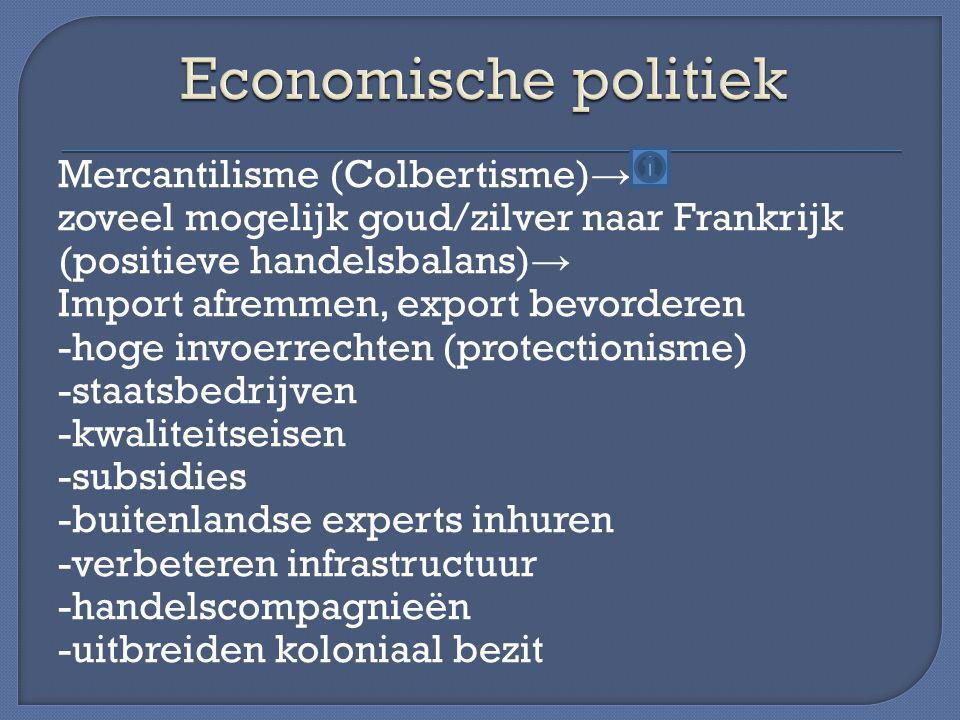 Economische politiek