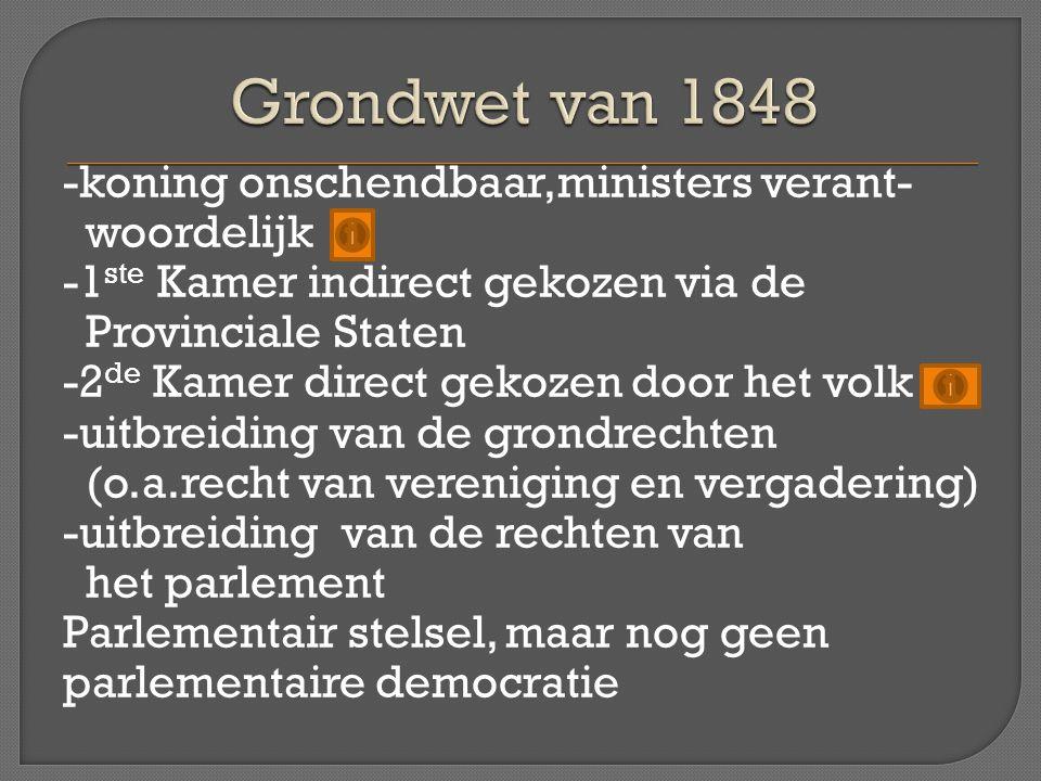 Grondwet van 1848
