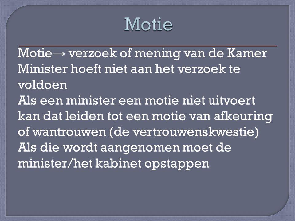 Motie