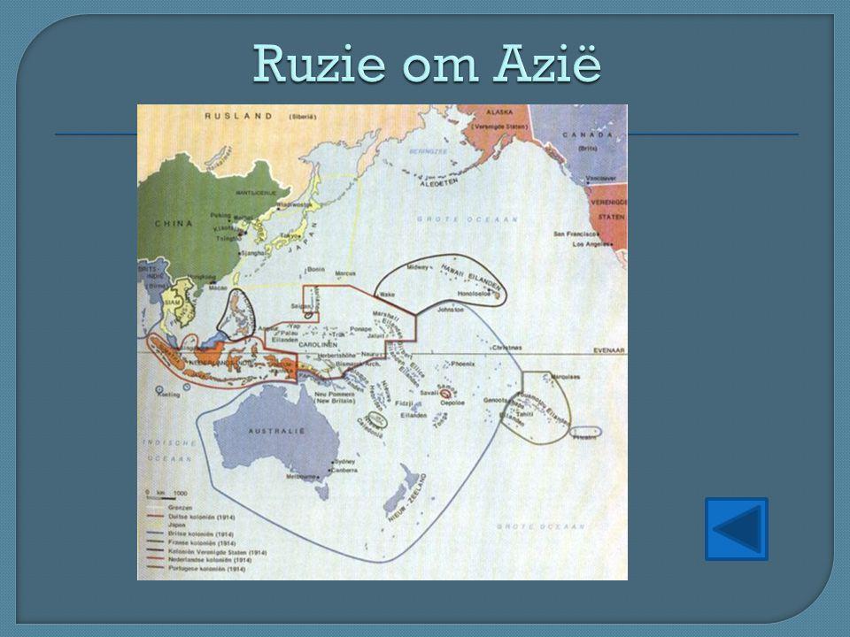 Ruzie om Azië