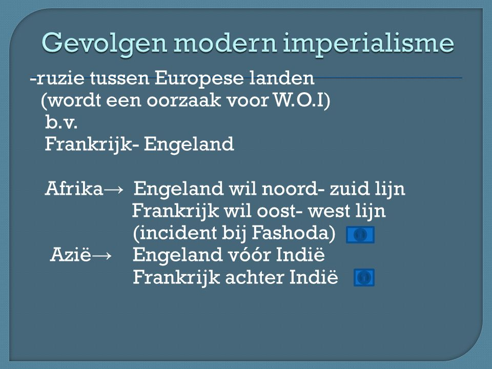 Gevolgen modern imperialisme
