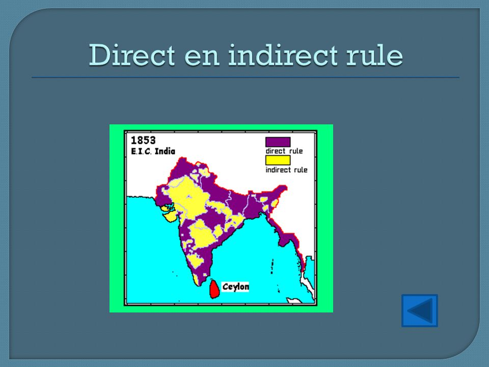 Direct en indirect rule