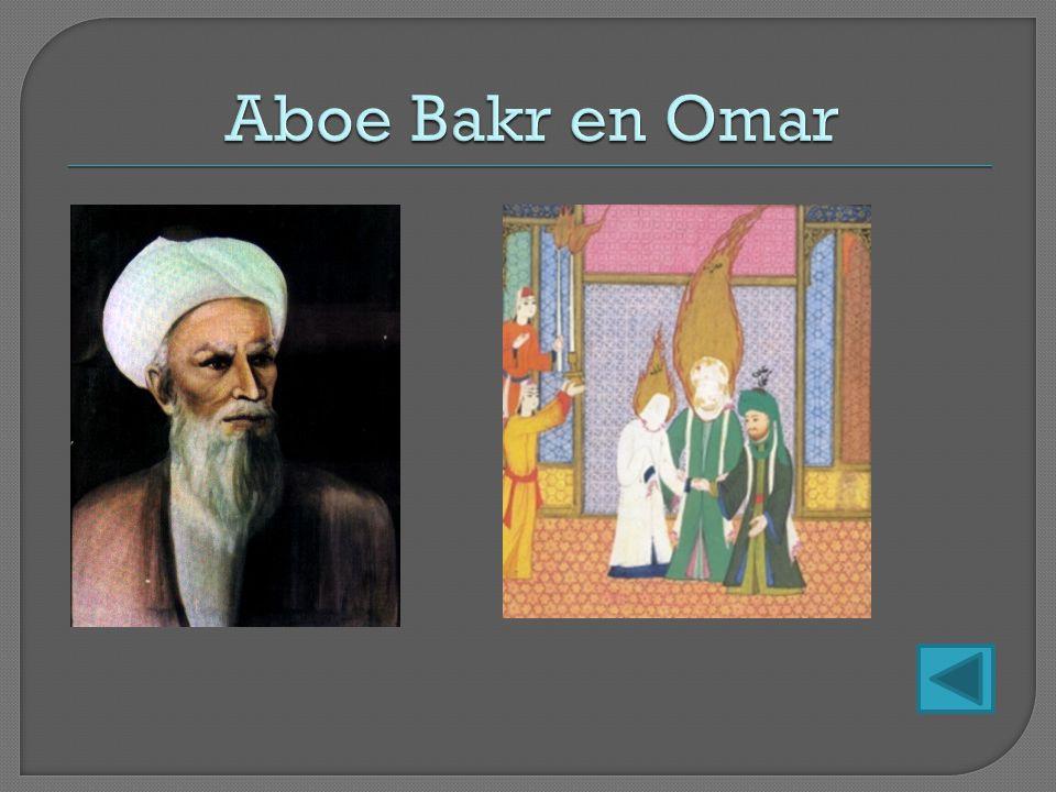 Aboe Bakr en Omar
