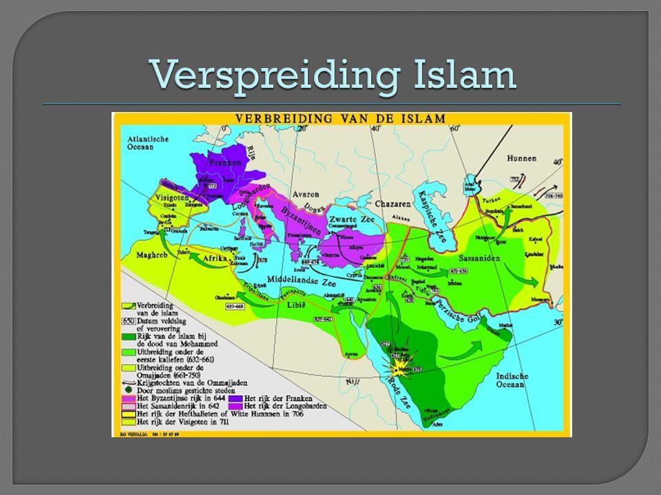 Verspreiding Islam