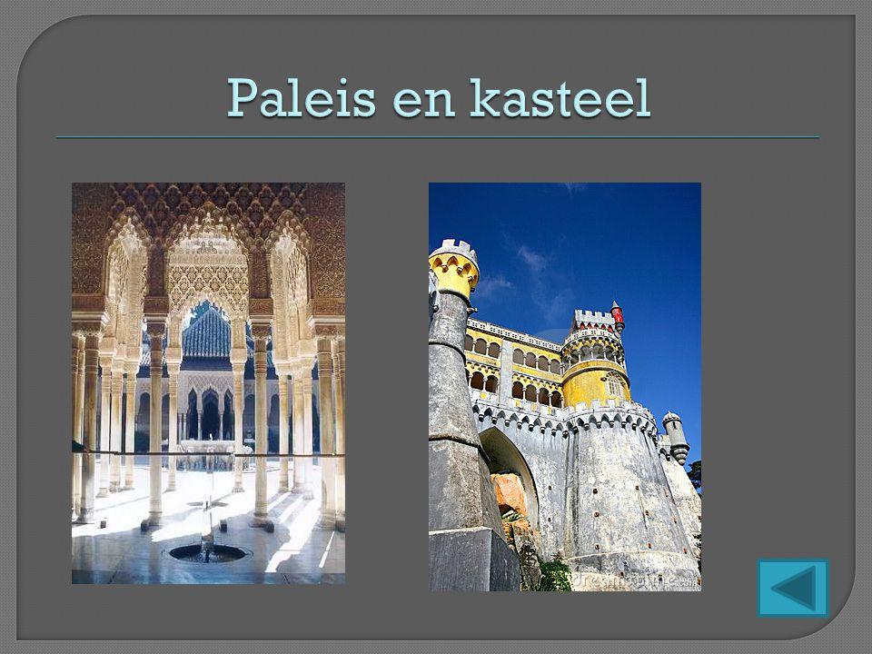 Paleis en kasteel