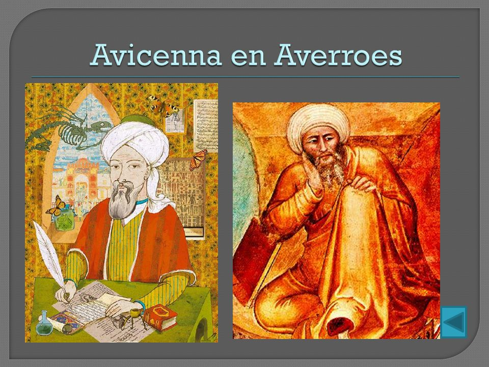 Avicenna en Averroes
