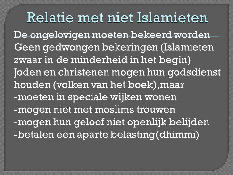 Relatie met niet Islamieten