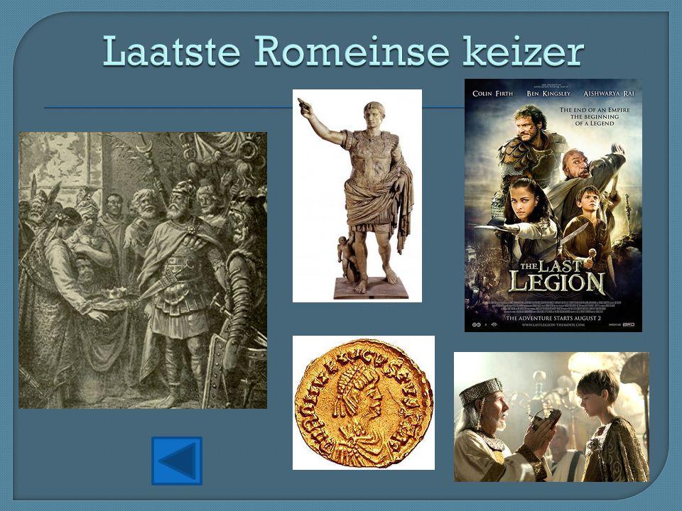 Laatste Romeinse keizer