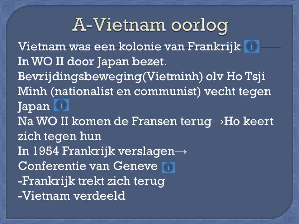 A-Vietnam oorlog