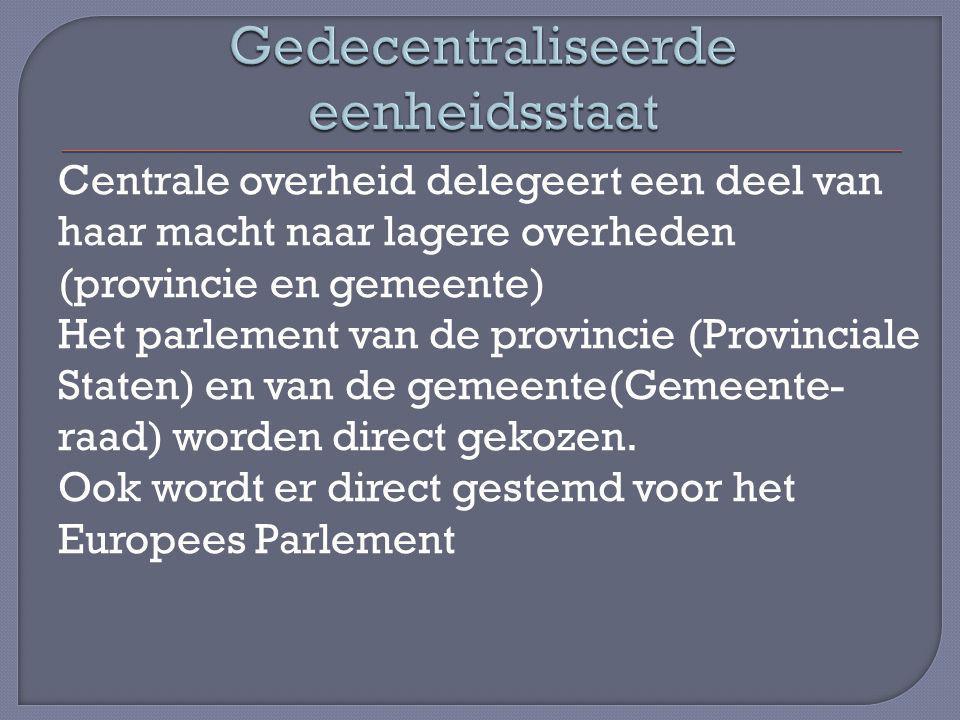 Gedecentraliseerde eenheidsstaat
