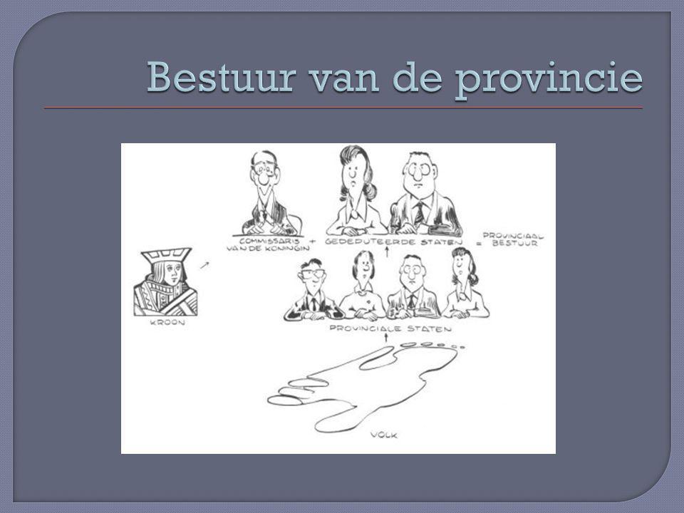 Bestuur van de provincie