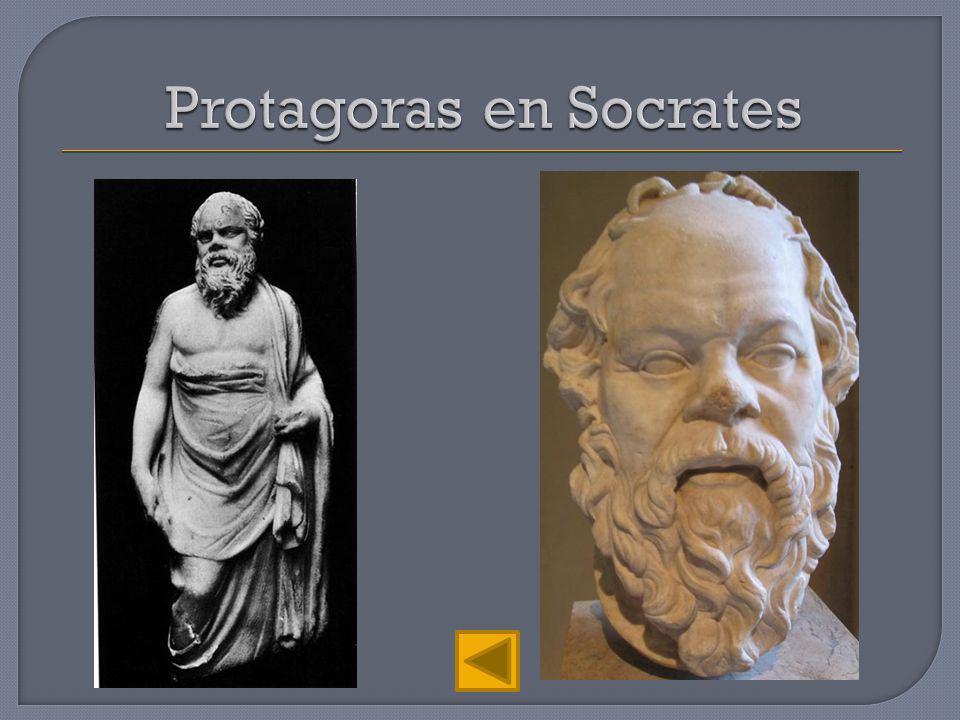 Protagoras en Socrates