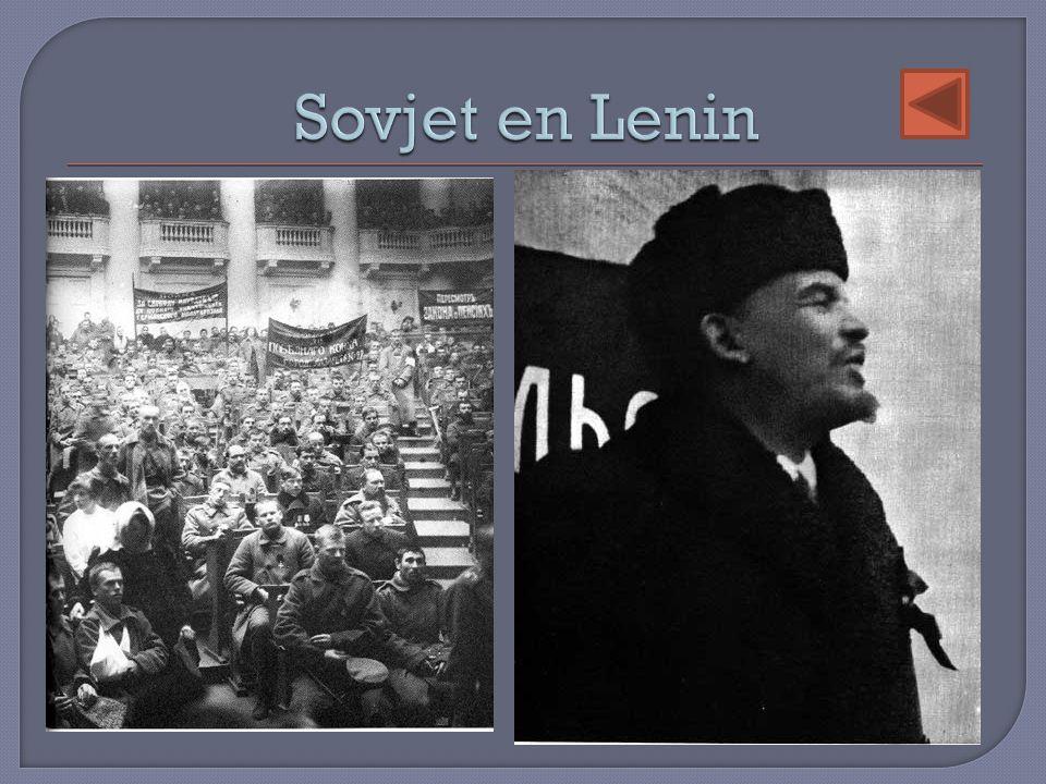 Sovjet en Lenin