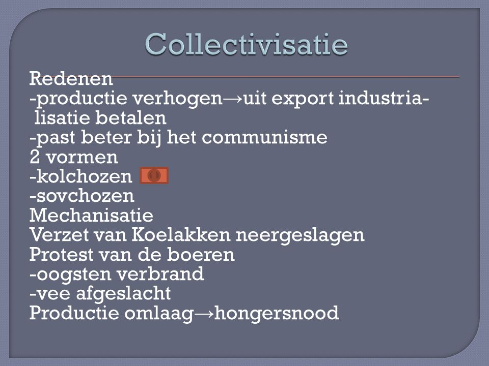 Collectivisatie