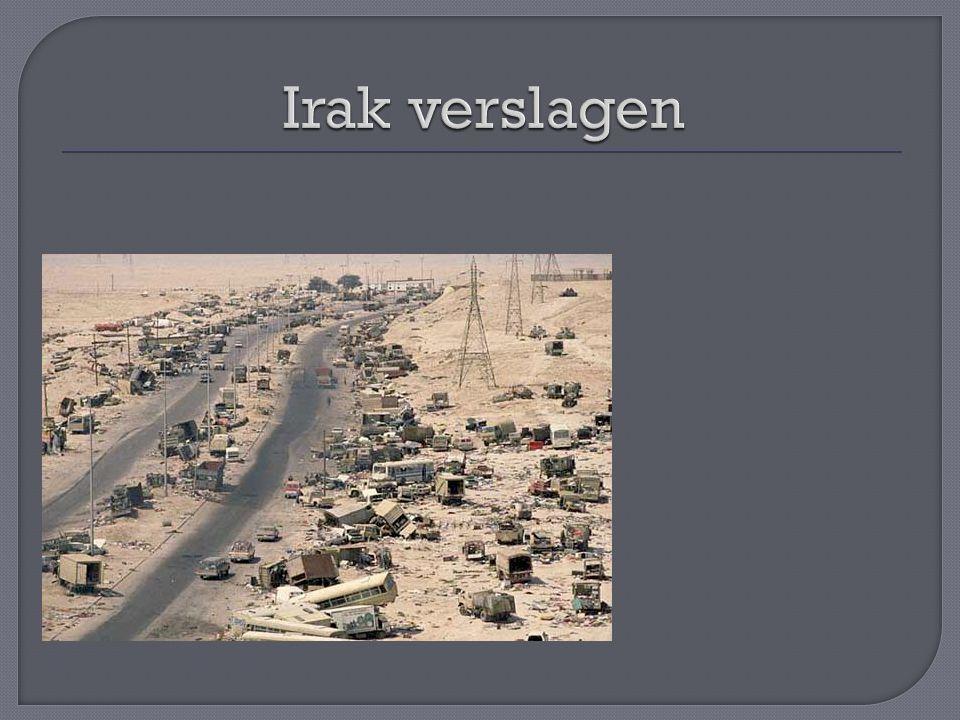 Irak verslagen