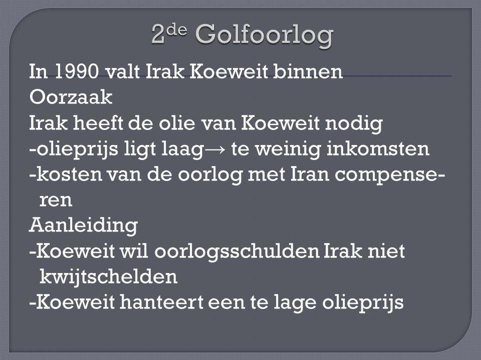 2de Golfoorlog