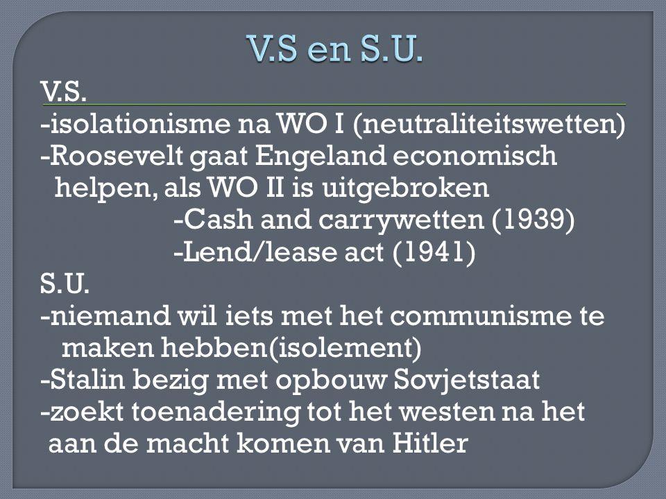 V.S en S.U.