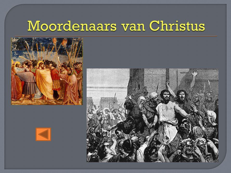 Moordenaars van Christus