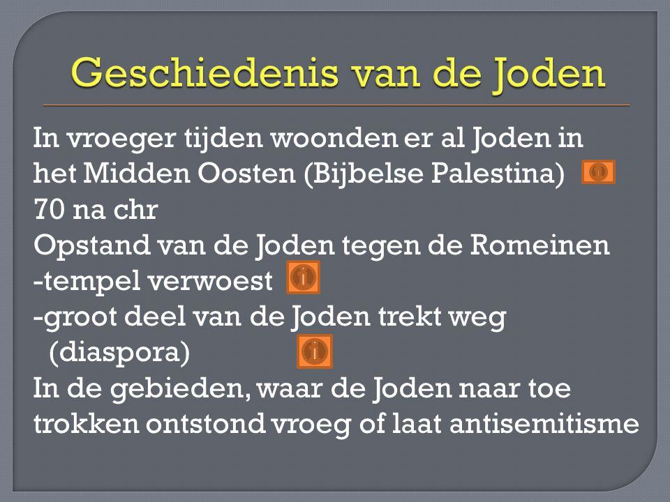 Geschiedenis van de Joden