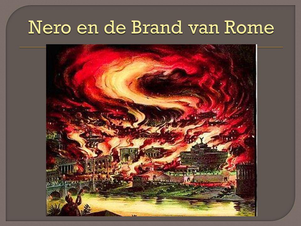 Nero en de Brand van Rome