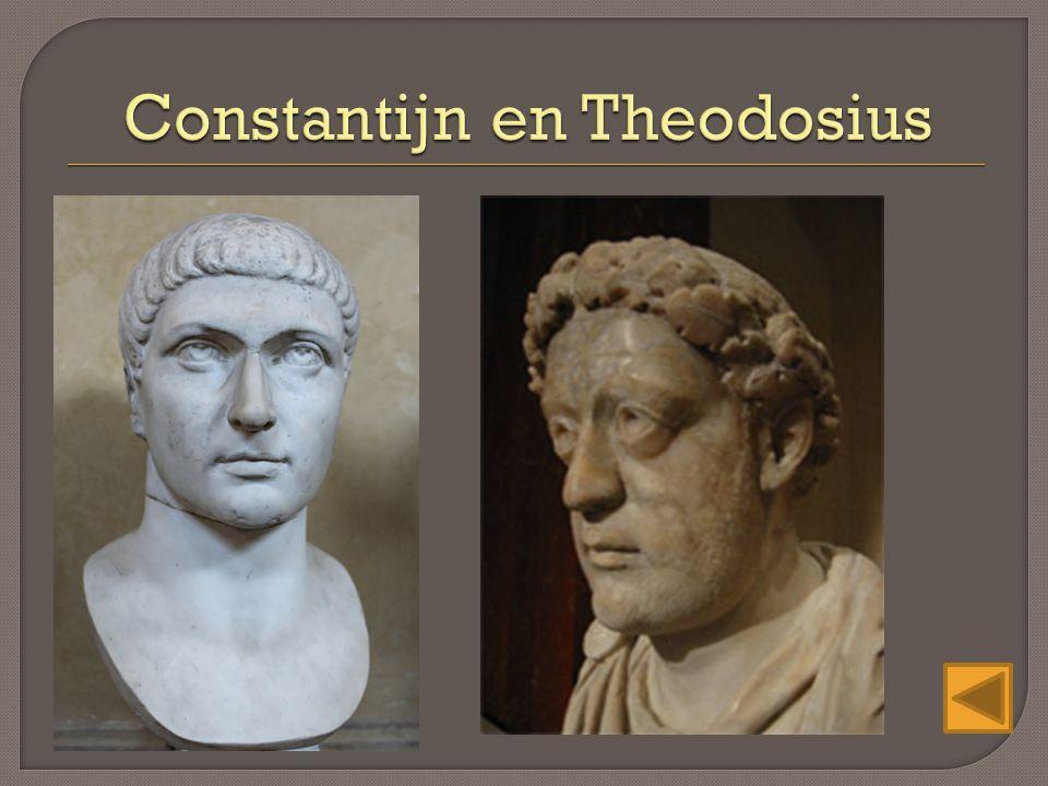 Constantijn en Theodosius