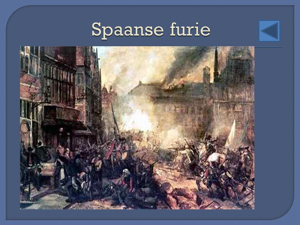 Spaanse furie