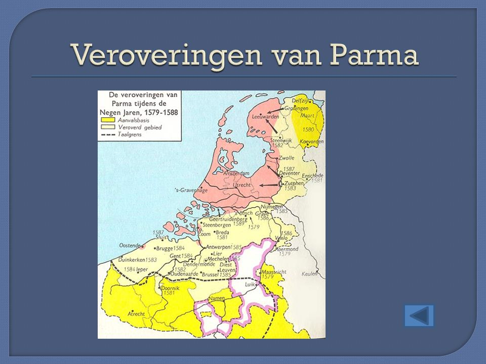 Veroveringen van Parma