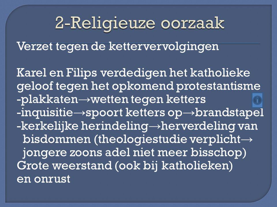 2-Religieuze oorzaak