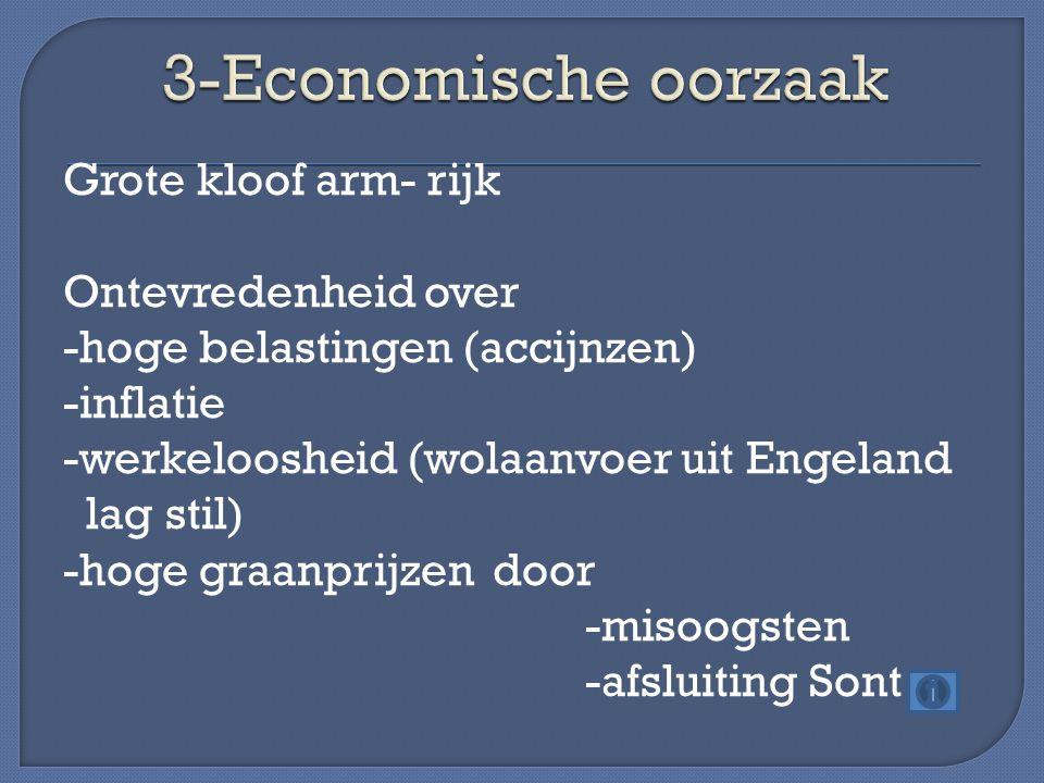 3-Economische oorzaak