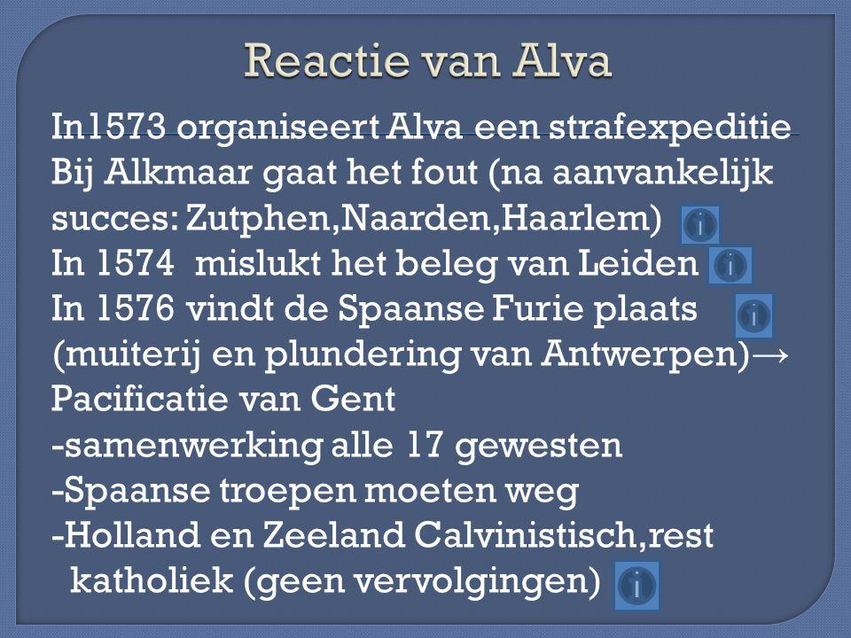 Reactie van Alva