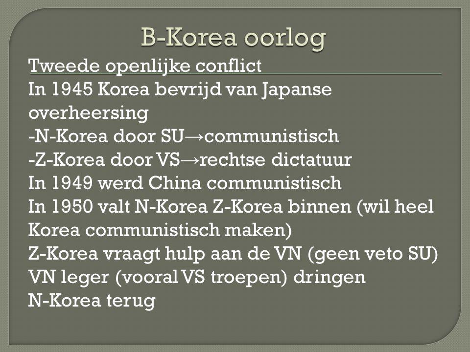 B-Korea oorlog